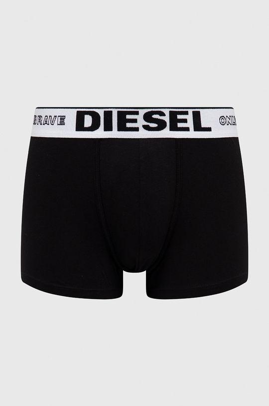 czarny Diesel - Bokserki Męski