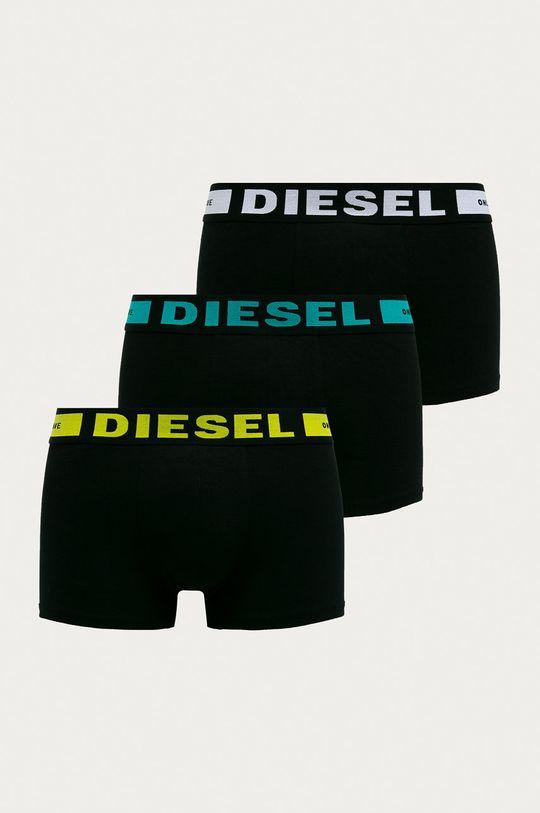 čierna Diesel - Boxerky (3-pak) Pánsky