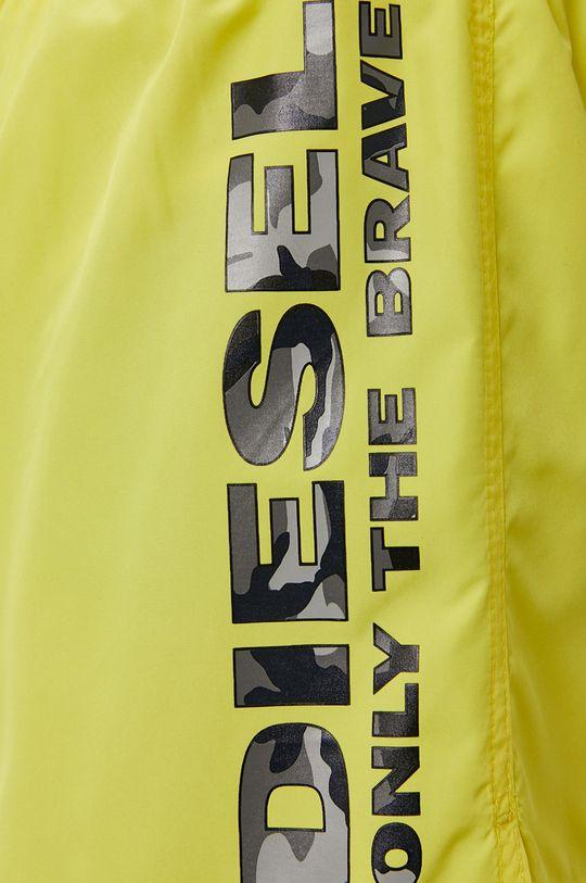 żółty Diesel - Szorty kąpielowe