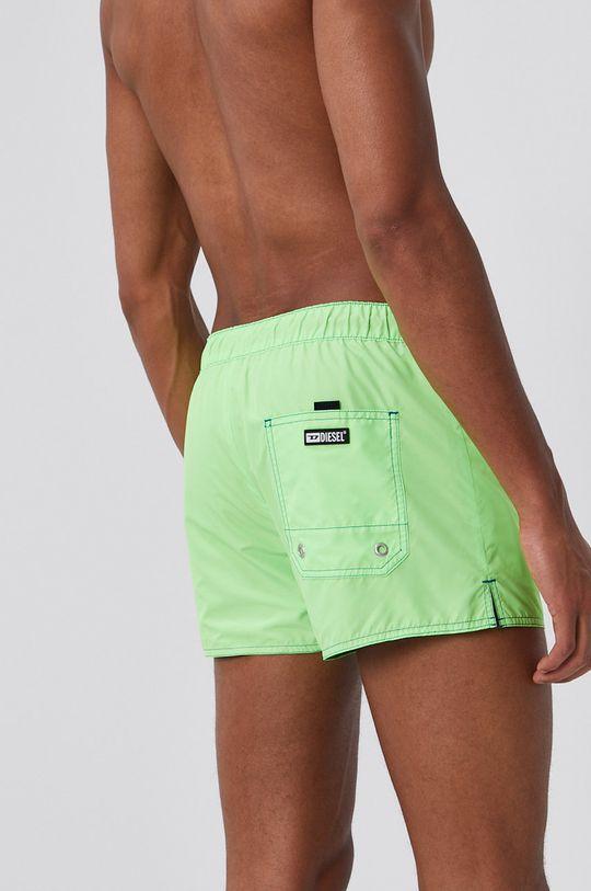 Diesel - Pantaloni scurti de baie cu doua fete  Materialul de baza: 100% Poliester  Banda elastica: 14% Elastan, 57% Nailon, 29% Poliester