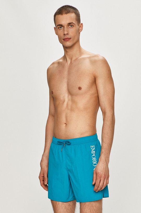 modrá Emporio Armani - Plavkové šortky Pánský