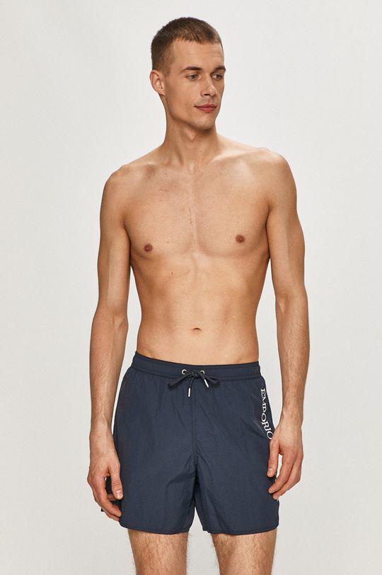 námořnická modř Emporio Armani - Plavkové šortky Pánský