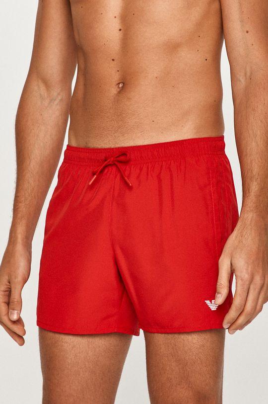 červená Emporio Armani - Plavkové šortky Pánský
