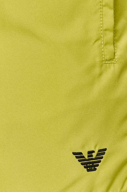 žlutě zelená Emporio Armani - Plavkové šortky