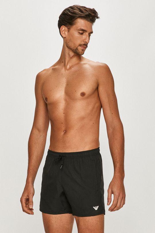 černá Emporio Armani - Plavkové šortky Pánský