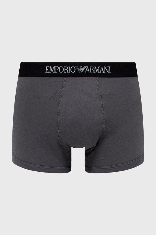 Emporio Armani - Bokserki (3-pack) czerwony