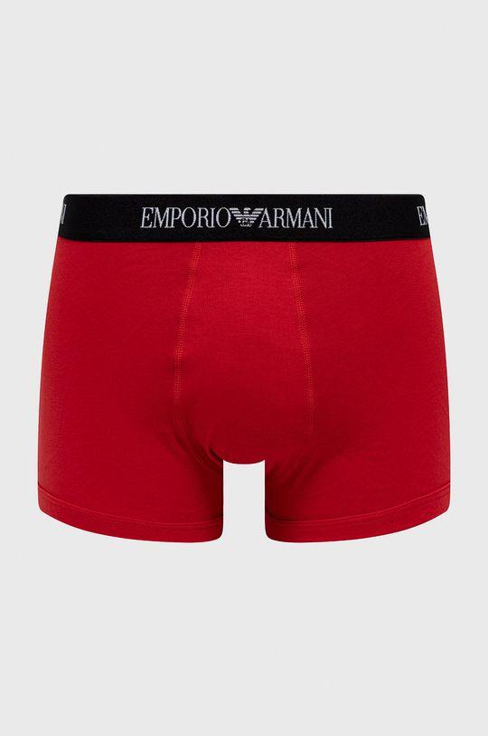 Emporio Armani - Bokserki (3-pack) Materiał 1: 100 % Bawełna, Materiał 2: 16 % Elastan, 84 % Poliester