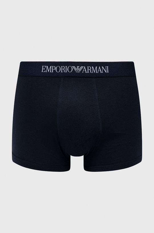 Emporio Armani - Boxerky (3-pack) námořnická modř