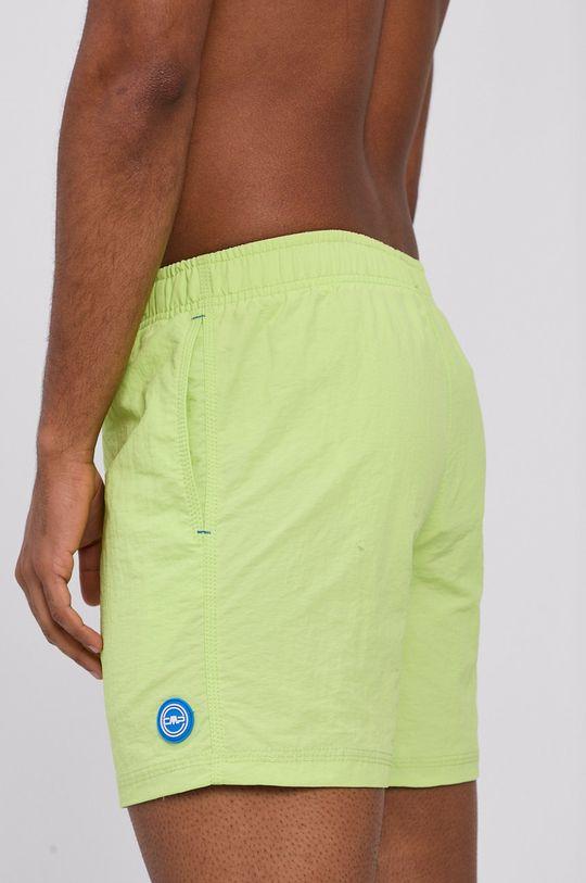CMP - Plavkové šortky žlutě zelená