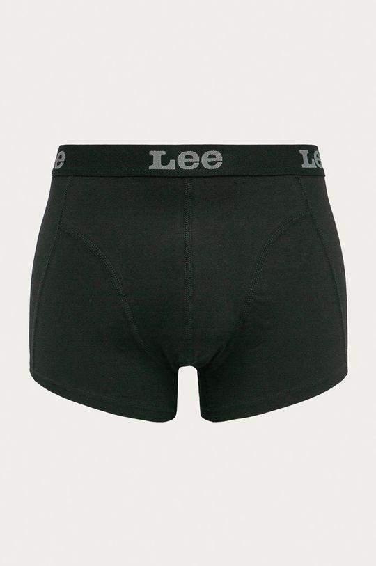 czarny Lee - Bokserki (2-pack) Męski