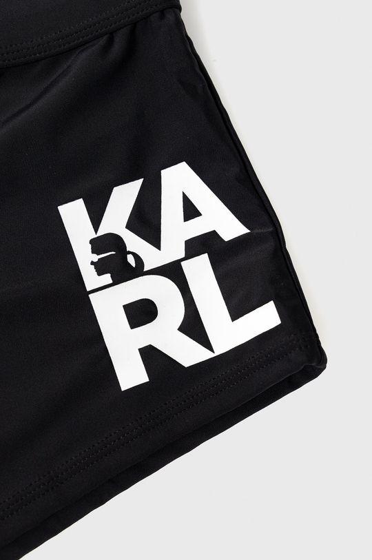 czarny Karl Lagerfeld - Kąpielówki