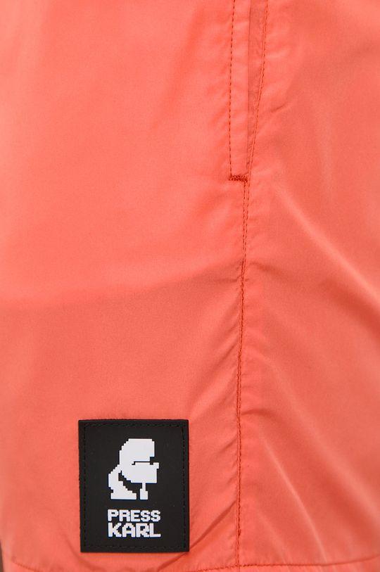 Karl Lagerfeld - Plavkové šortky oranžová