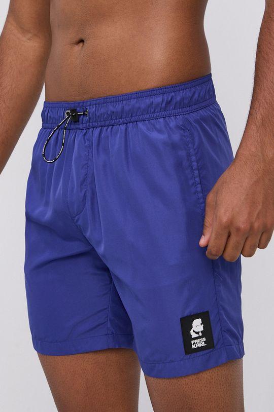 námořnická modř Karl Lagerfeld - Plavkové šortky Pánský
