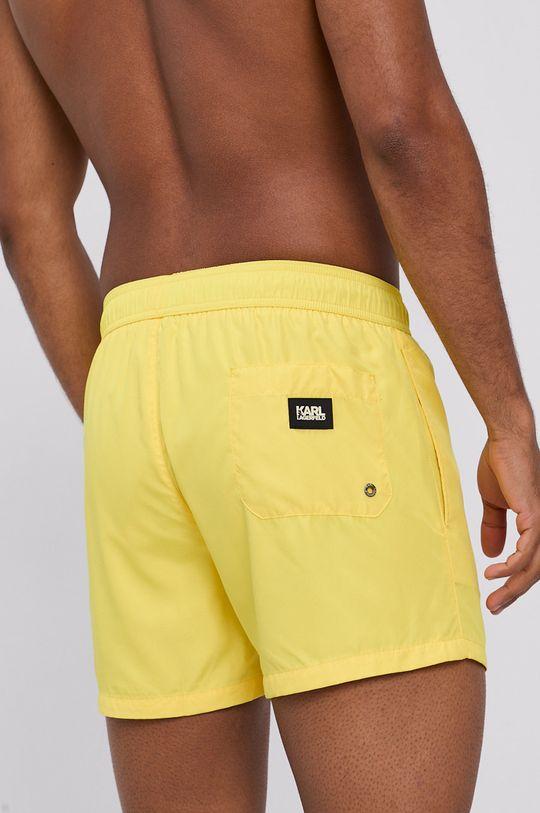 Karl Lagerfeld - Plavkové šortky žlutá