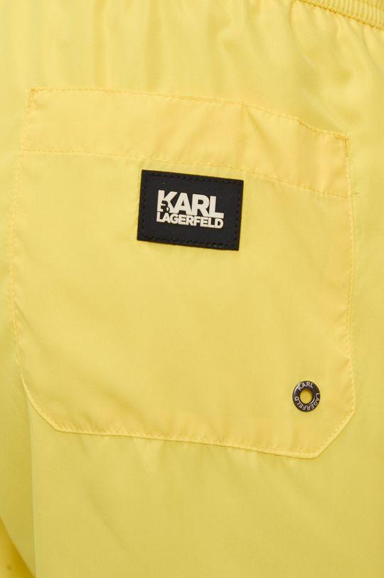 Karl Lagerfeld - Plavkové šortky  Materiál č. 1: 100% Polyester Materiál č. 2: 7% Elastan, 93% Polyamid