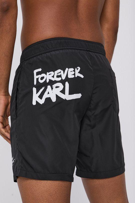 černá Karl Lagerfeld - Plavkové šortky Pánský