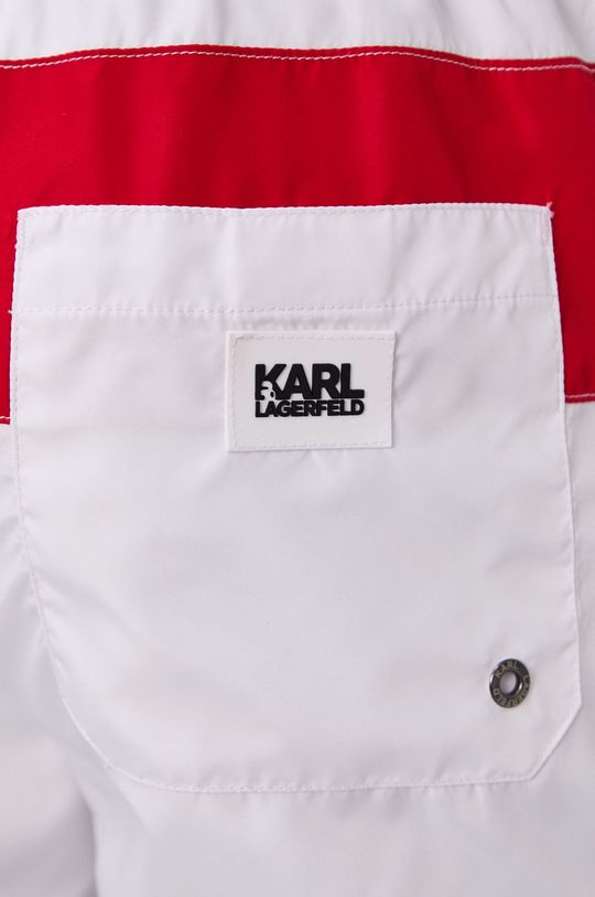 Karl Lagerfeld - Szorty kąpielowe Materiał 1: 100 % Poliester, Materiał 2: 7 % Elastan, 93 % Poliamid