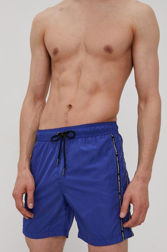 Karl Lagerfeld - Plavkové šortky námořnická modř