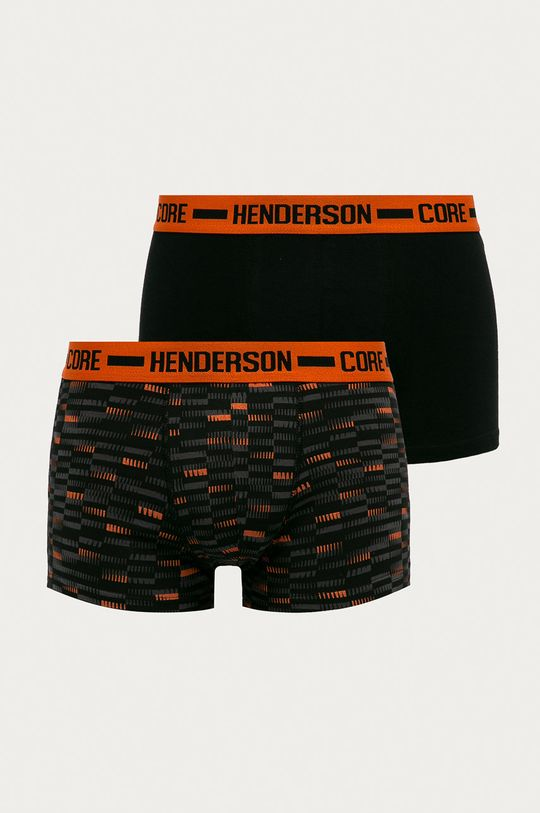 negru Henderson - Boxeri (2-pack) De bărbați