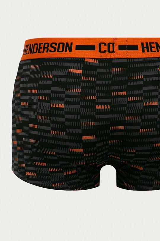 negru Henderson - Boxeri (2-pack)