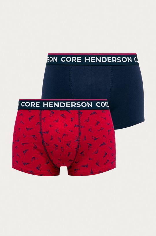 multicolor Henderson - Bokserki (2-pack) Męski