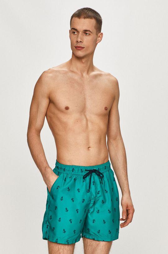 zelená Henderson - Plavkové šortky Pánský