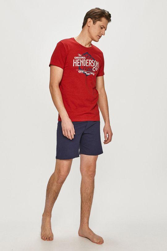 červená Henderson - Pyžamo Pánsky