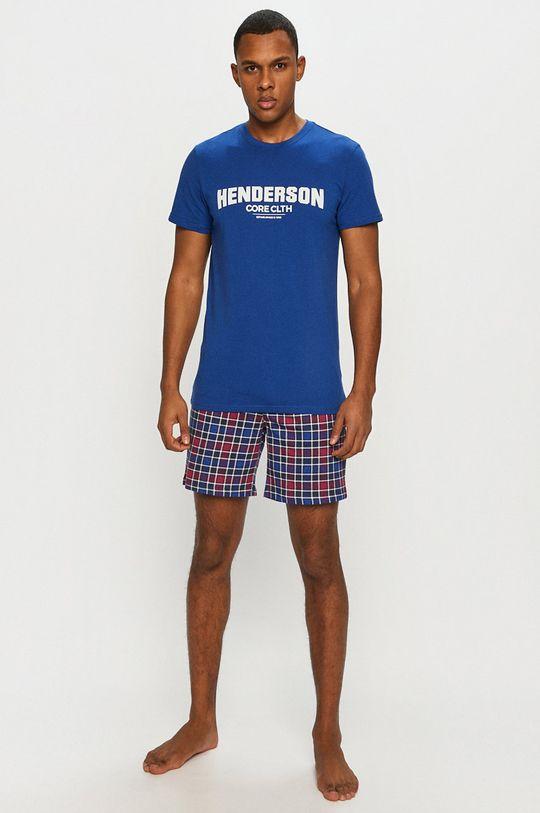 albastru Henderson - Pijama De bărbați