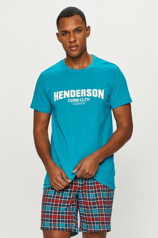 Henderson - Piżama ciemny turkusowy