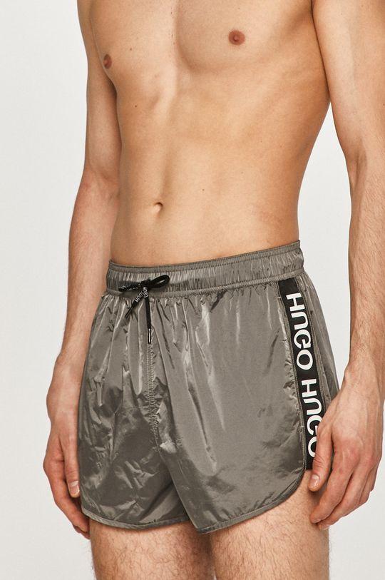 šedá Hugo - Plavkové šortky Pánský