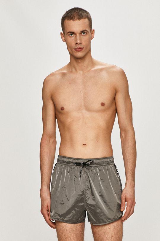 Hugo - Plavkové šortky šedá