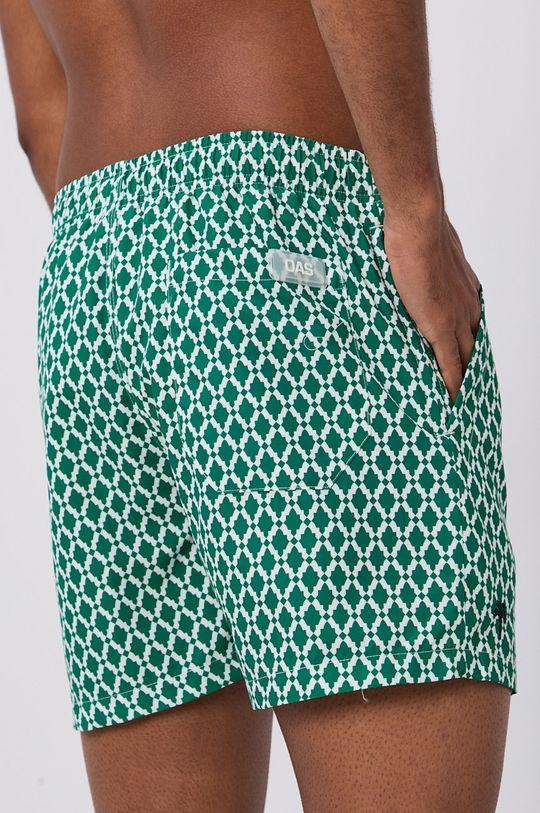 OAS - Plavkové šortky ostrá zelená