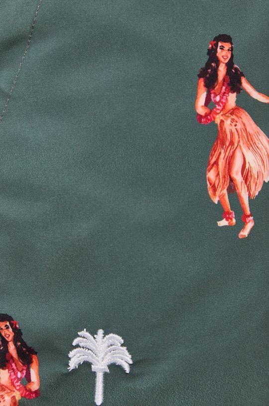 OAS - Plavkové šortky okrová