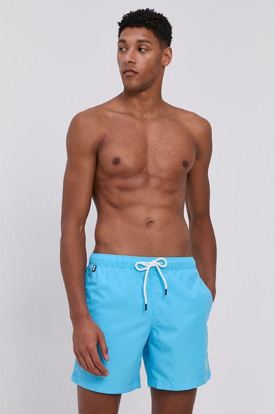 Tom Tailor - Plavkové šortky modrá