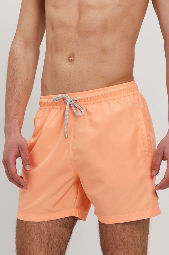 John Frank - Plavkové šortky broskvová
