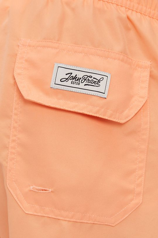 broskvová John Frank - Plavkové šortky