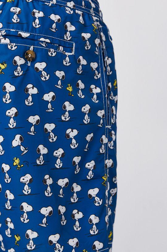 námořnická modř MC2 Saint Barth - Plavkové šortky x Peanuts