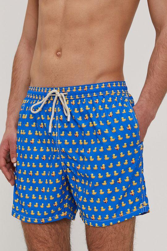 modrá MC2 Saint Barth - Plavkové šortky Pánský
