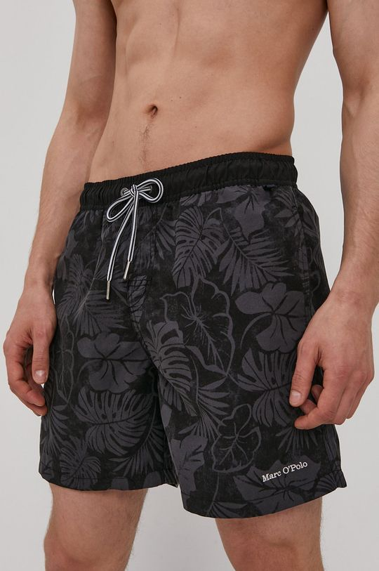 čierna Marc O'Polo - Plavkové šortky Pánsky