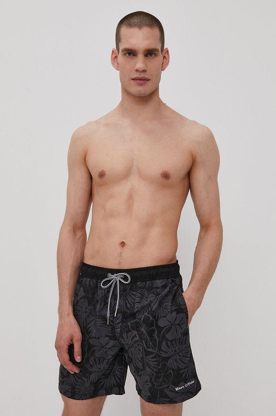 Marc O'Polo - Plavkové šortky čierna
