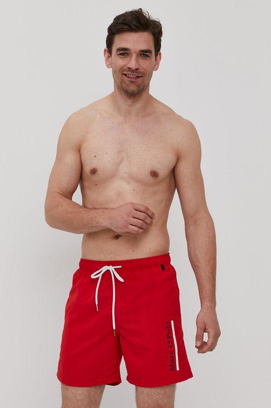 Marc O'Polo - Szorty kąpielowe czerwony