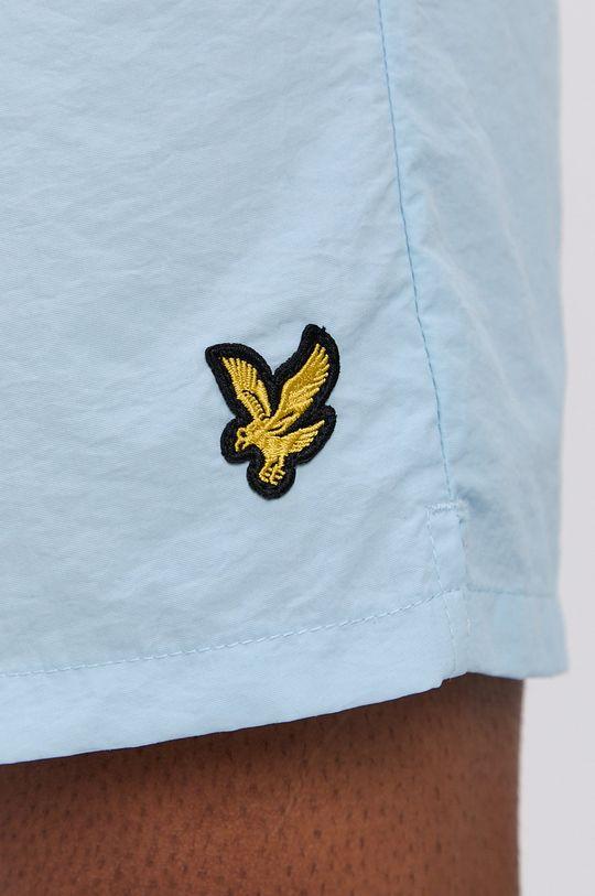 světle modrá Lyle & Scott - Plavkové šortky