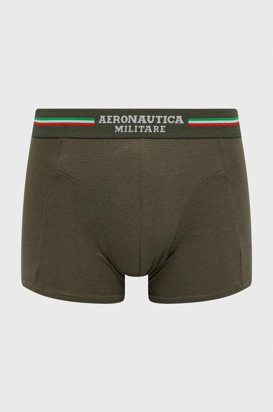 Aeronautica Militare - Boxerky (2-pak) vojenská zelená