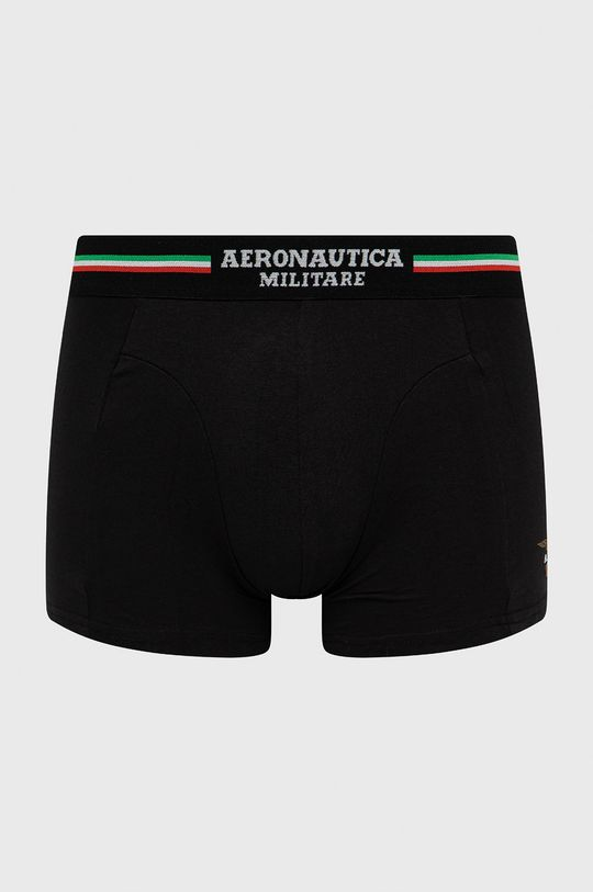 Aeronautica Militare - Bokserki (2-pack) czarny