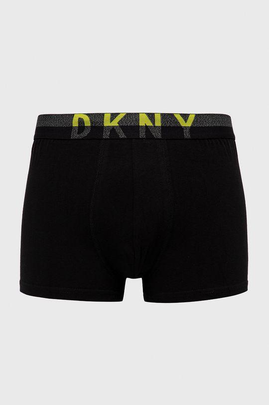 Dkny - Bokserki (3-pack) czarny
