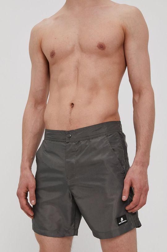 szary Karl Lagerfeld - Szorty kąpielowe Męski