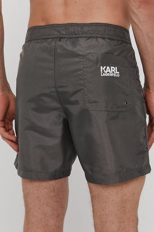 Karl Lagerfeld - Szorty kąpielowe szary