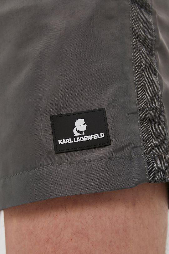 szary Karl Lagerfeld - Szorty kąpielowe