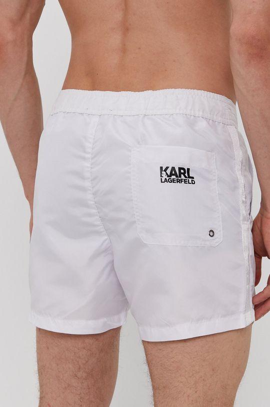 Karl Lagerfeld - Plavkové šortky biela