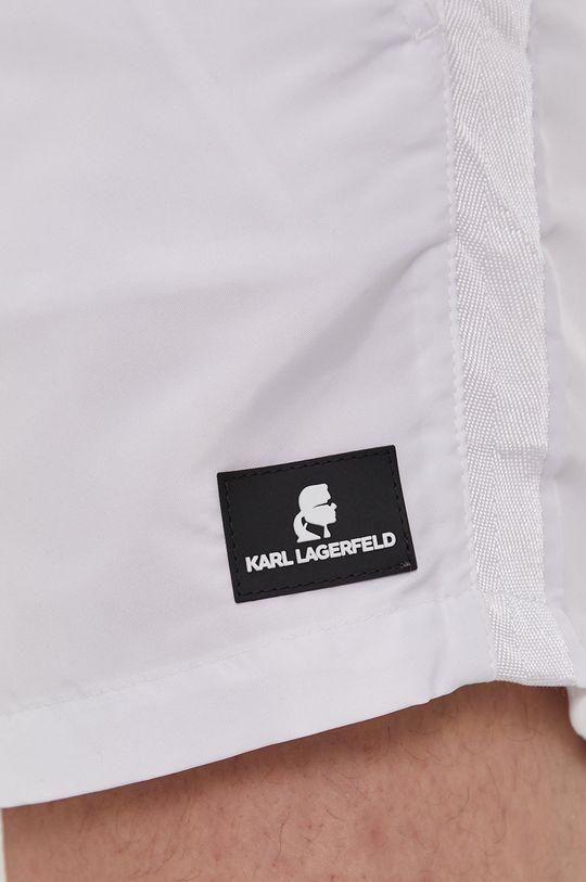 biela Karl Lagerfeld - Plavkové šortky